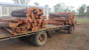 Grade A hardwood split posts (rounds/strainers/stays available) Windera South Burnett Area Preview