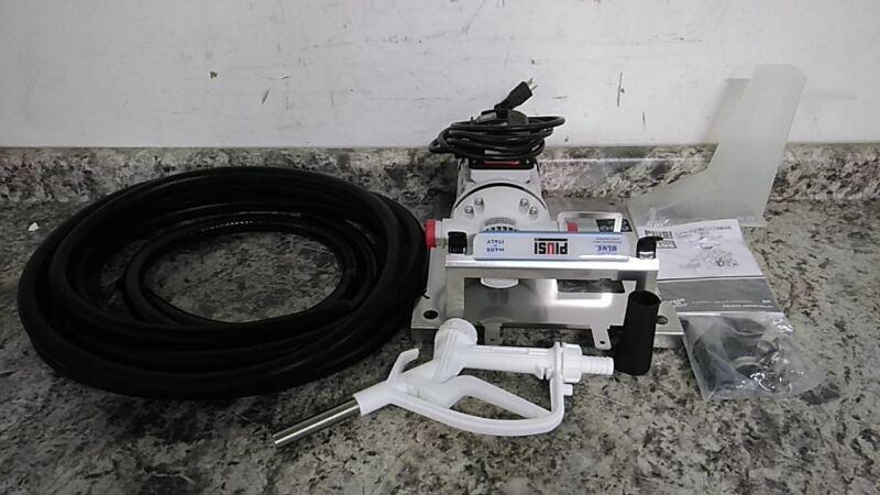 Piusi F00201A2 2/3 HP 1400 RPM 120VAC Electric Operated Drum Pump