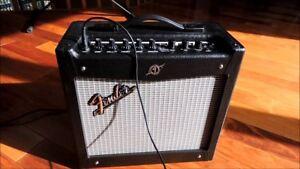 Fender Mustang 1 v2 modeling amp - les than 1 year old!