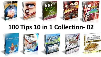 100 Tips - 10 in 1 Valuable Collection PDF Ebook - 02 Master Resell Rights 24hrs