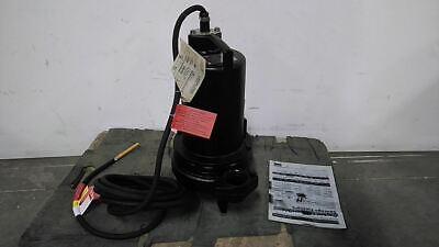Dayton 3bb95 2 Hp 3450 Rpm 240vac Cast Iron Sewage Ejector Pump C