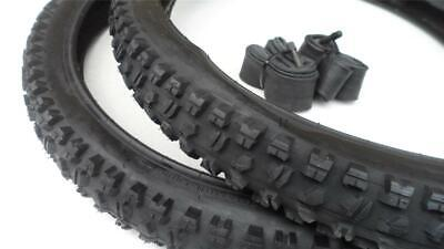 26 x 2.50 Mountain Bike Tires & Tubes Heavy Duty DownHill 26