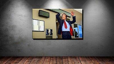 Pop-art Comic (LEINWAND BILD ER XXL POP ART WOLF OF WALL STREET MCCONAUGHEY COMIC STYLE  150x90)