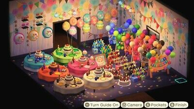 Everything Birthday Party Complete Set : Animal Crossing New Horizons ACNH