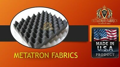 1 Pack Egg Crate Soundproofing Acoustic Foam Wall Panels Upholstery 1.5 x18 X24