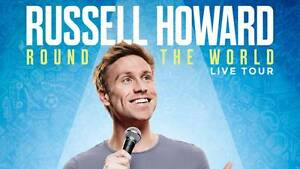 *FRIDAY* Russell Howard: Round the World Tickets (DRESS CIRCLE) Clayton Monash Area Preview