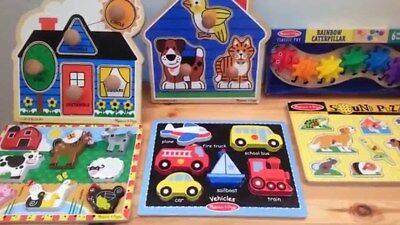 Melissa & Doug Puzzles Smarty Pants Counting Clock Games Cars Dough Set More - More Baby Games