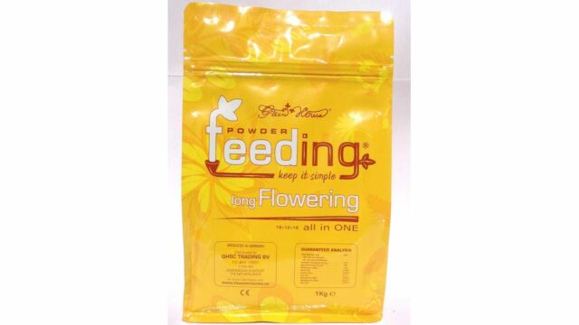 Sativa - Powder Feeding By Greenhouse Seed Company 125g sachet free 5 labels