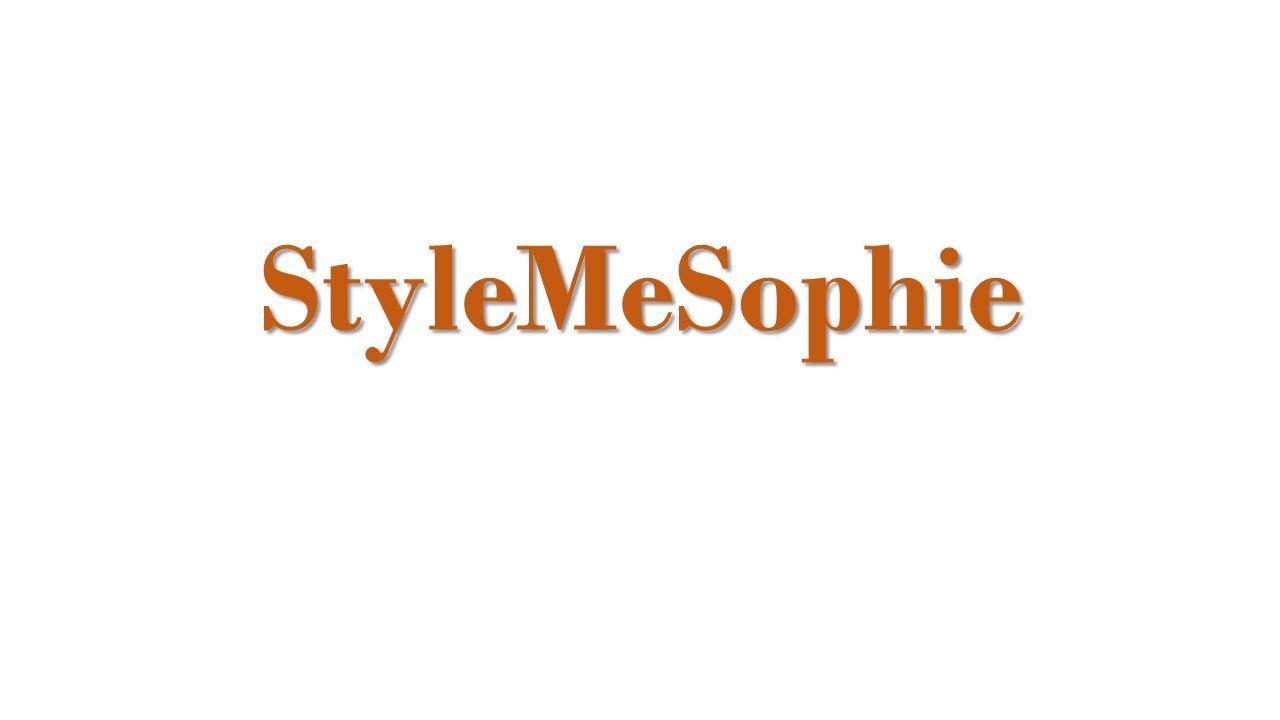 StyleMeSophie