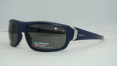 Tag Heuer Racer 9221 106 Dark Blue SUNGLASSES Watersports Polarized Grey Lens