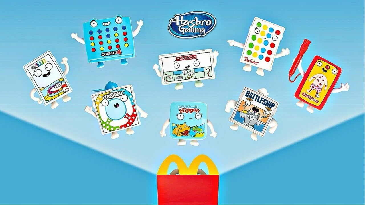 2021 McDONALD/'S Hasbro Family Classic Games HAPPY MEAL TOYS Or Set