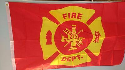 3 x 5 Fire Department Flag Fire