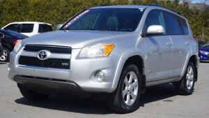2010 Toyota RAV4 Limited-4X4-CUIR-TOIT OUVRANT-MAG-BLUETOOTH