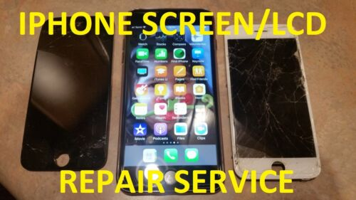 Apple Iphone 6 Cracked Screen Glass Digitizer Lcd Repair Replacement Service