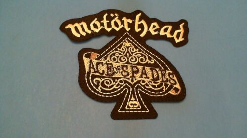 Motorhead Ace of Spades Iron on Patch! New USA Seller