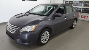 2015 Nissan Sentra S, bluetooth, A/C NO DAMAGE REPORT, ONLY ONE