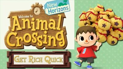 6 Million Bells and 200 Nook tickets - Animal Crossing New Horizons