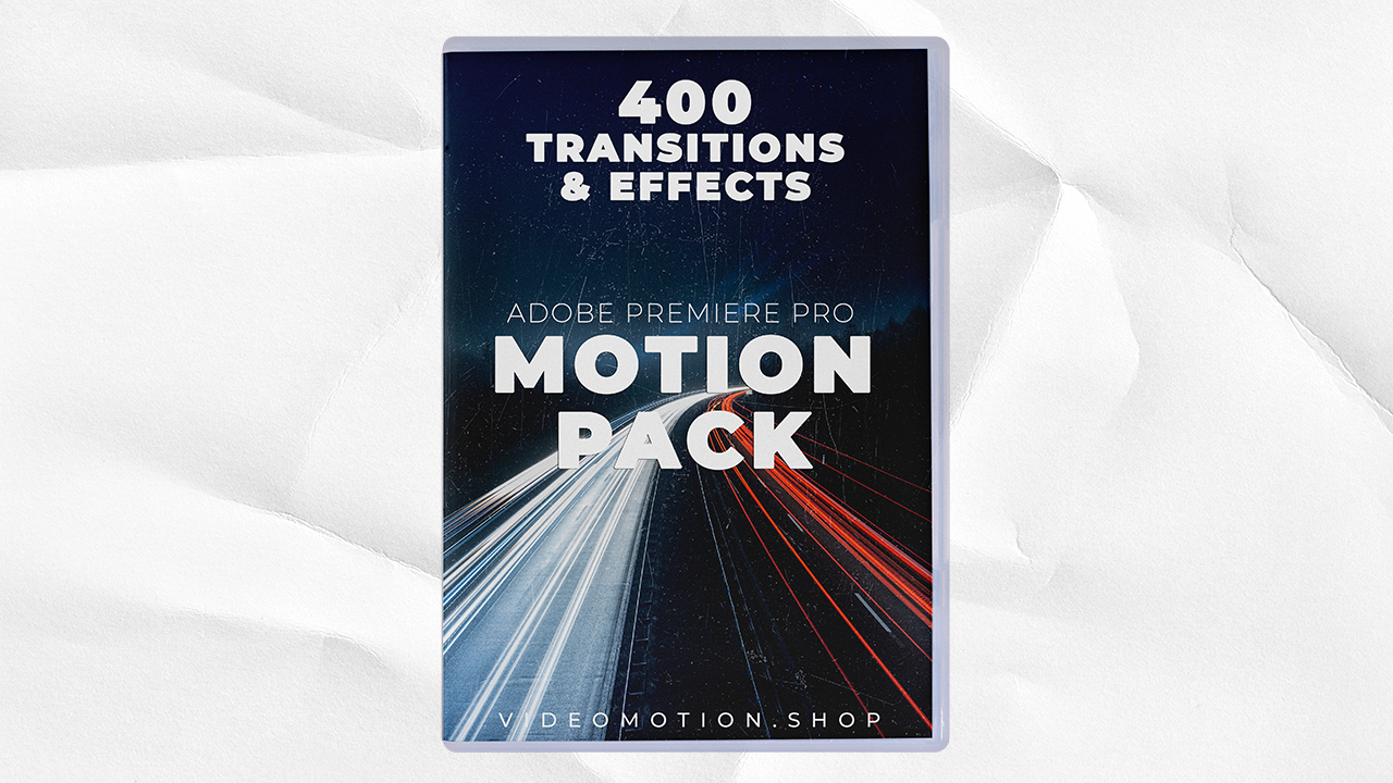 VIDEO MOTION - Motion Pack Glitch Transitions Seamless Transitions - $2.99