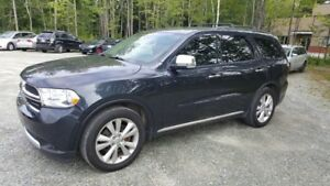 2013 Dodge Durango Crew Plus V8 AWD, 7 pass, navigation, toit ON