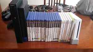 Playstation 2, Nintendo Wii, Assorted Games & Controllers Stirling Stirling Area Preview
