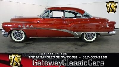 1953 Buick Roadmaster -- 1953 Buick Roadmaster  75119 Miles Mandarin Red Coupe 322 CID V8 2 Speed Automat