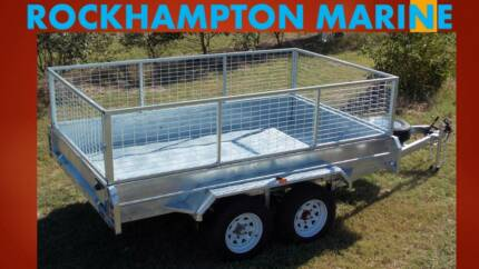BRAND NEW 10X5 FULLY WELDED, HOT DIP GAL TANDEM BOX TRAILER!!! Allenstown Rockhampton City Preview
