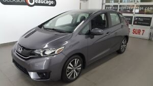 2017 Honda Fit EX-L, cuir, navigation, toit ouvrant ONE OWNER
