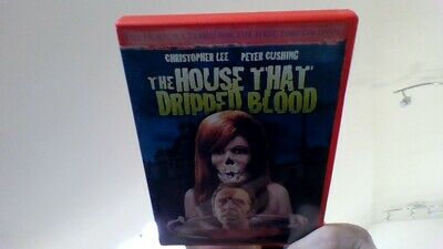 THE HOUSE THAT DRIPPED BLOOD -DVD PETER CUSHING-region 0 uk complatible usa impo