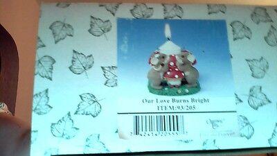 Charming Tails Our Love Burns Bright Item# 93/205 SE NIB
