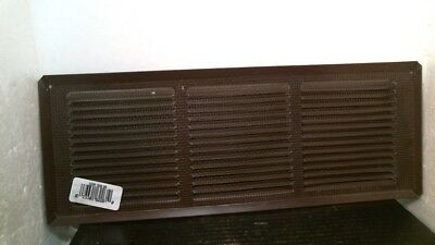 "Air Vent 62261 Under-eave 16"" x 6"" Aluminum, Brown, FREE SHIPPING"
