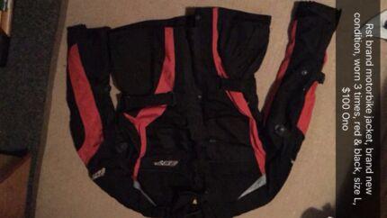 Large size rst motorbike jacket, new!