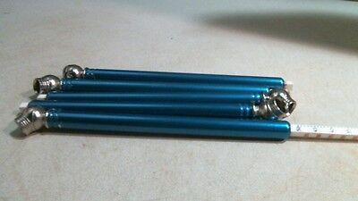 (Tire Pressure Gauge Pencil Style 10-50 Lbs. & kPa 75-325  5 Per Order Blue)