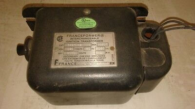 Franceformer 6eegw-2 Interchangeable Ignition Transformer
