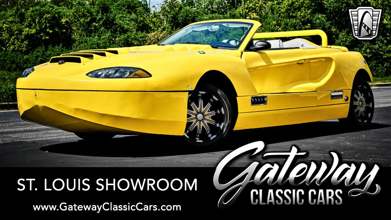 Yellow 2008 Cool Hydra Spyder Convertible  6.2L V8 LS3 5 Speed Manual Available
