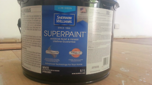 Sherwin Williams White Low Sheen 9.1 L. Brand New Endeavour Hills Casey Area Preview