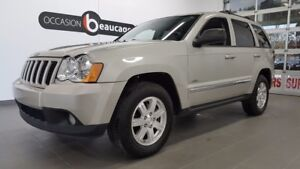 2010 Jeep Grand Cherokee LAREDO 4X4, cuir, toit ouvrant, caméra