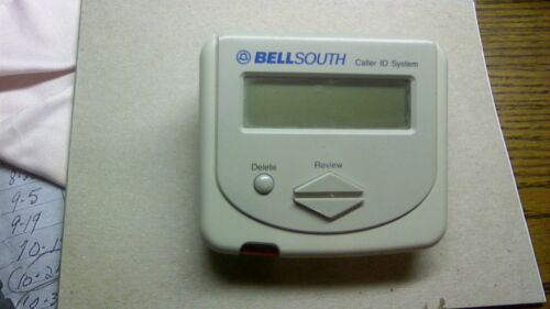 Genuine Bellsouth (CI-150) 90 Name / Number Memory Caller ID Box Only