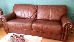 As New Leather lounge 3 seater $1000 Canberra City North Canberra Preview
