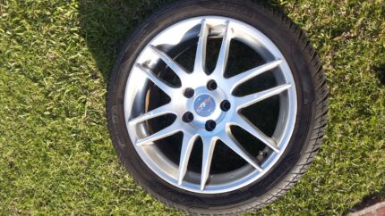Work 17 inch rims & Pirelli tyres  Campbelltown Campbelltown Area Preview