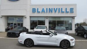 2018 Ford Mustang GT premium convertible gps cuir