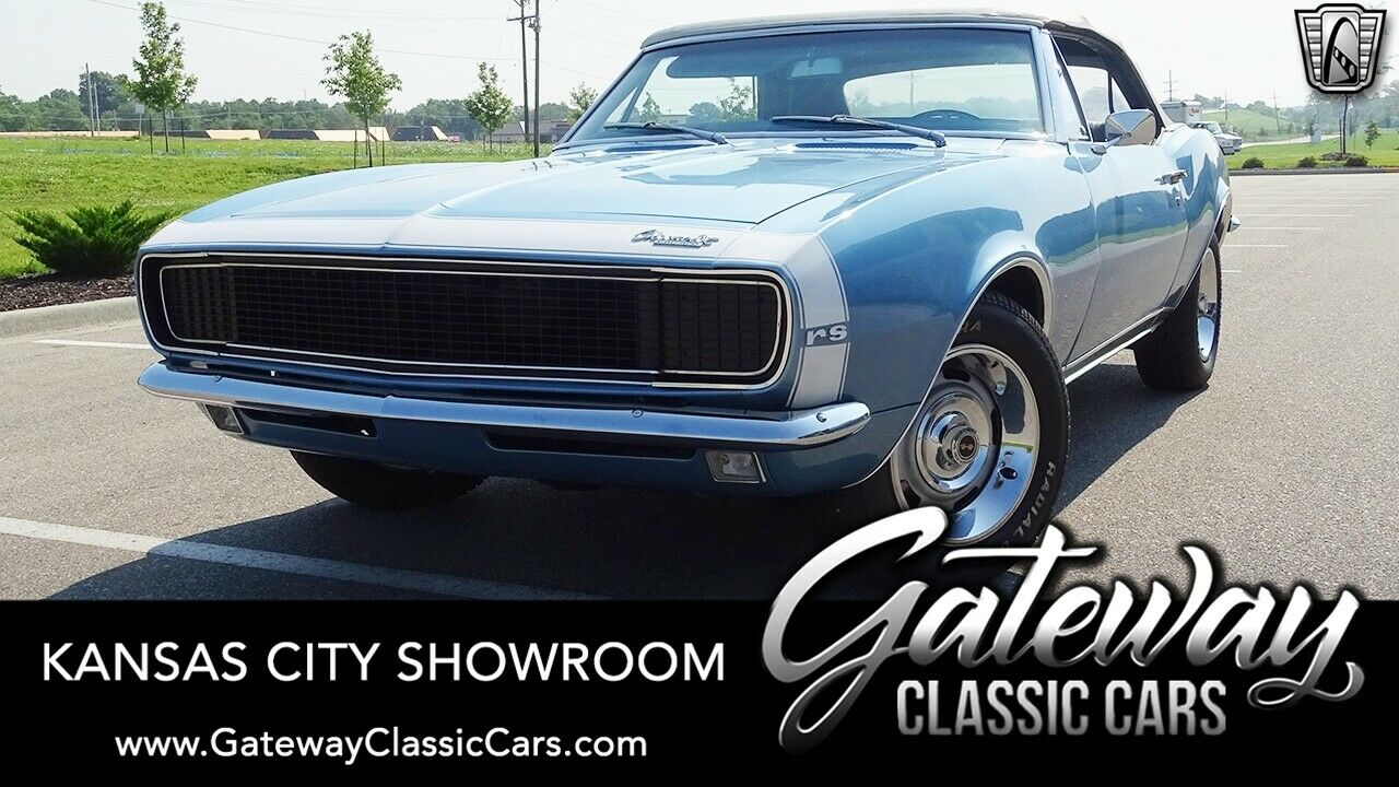 Blue 1967 Chevrolet Camaro  350 CID 2 Speed Power Glide Available Now!