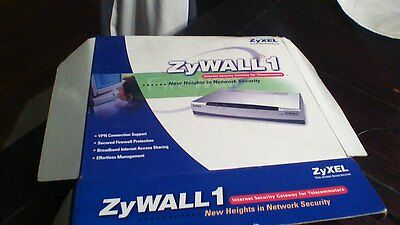 Zyxel Zywall 1 Ethernet Router Vpn