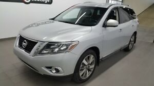 2013 Nissan Pathfinder Platinum, 7places, AWD, cuir, hitch