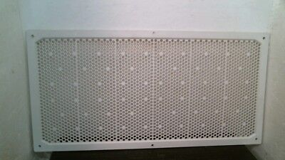 "White Plastic Soffit Vent 16"" x 8"", FREE SHIPPING"