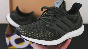 Adidas Ultraboost Green Cargo size 9US Newstead Brisbane North East Preview