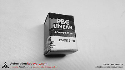 Pacific Bearing Ps0812-08 Linear Sleeve Bearing 12 In New 129832