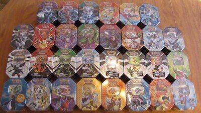 Pokemon Tin with 20x Cards Bundle - GUARANTEED GX/EX/HYPER RARE/SECRET/FULL ART