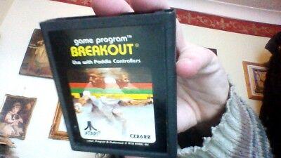 ATARI 2600 GAME VERSION OF BREAKOUT CARTRIDGE ONLY comprar usado  Enviando para Brazil