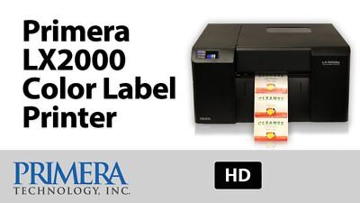 Used, Primera LX2000 Color Label Printer 074461  high-resolution inkjet technology NEW for sale  Miami