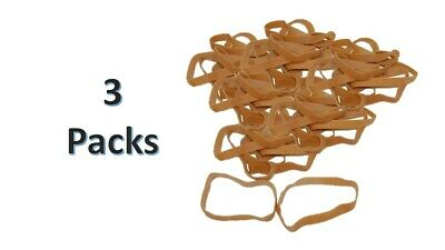 975 Supply Rubberbands Size 107 - 1lb. Bag - 3 Pack.